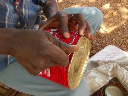 2ème atelier DIY au Burkina.