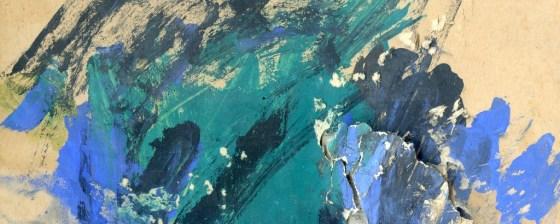 première peinture à l'école