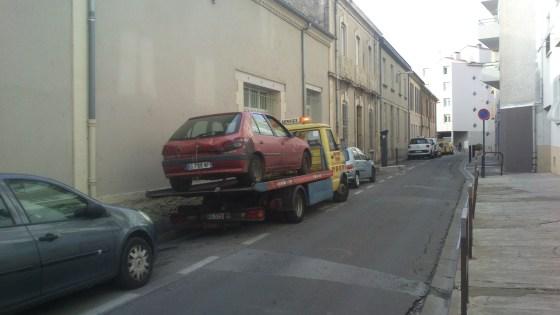 voiture épave