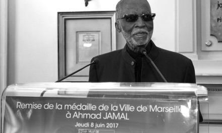 LE PIANISTE VIRTUOSE AHMAD JAMAL…SA RECONNAISSANCE MARSEILLAISE