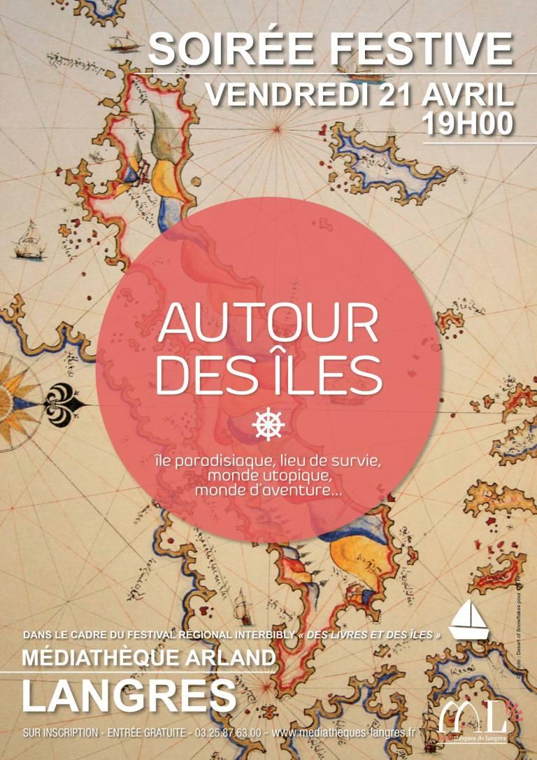 Lancement du Festival «Autour des îles» le 21 avril