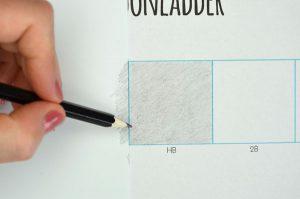 kladpapier toonladder
