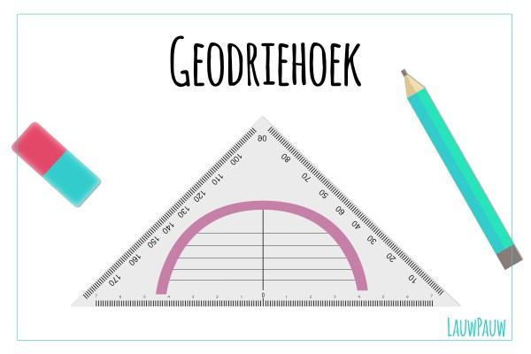 Hoe kun je een geodriehoek gebruiken om evenwijdige lijnen en gradenhoeken te tekenen?