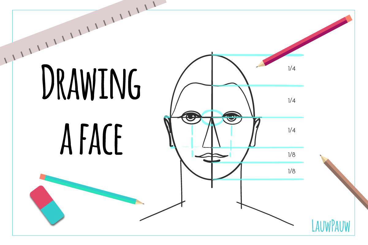 How to start: Portrait drawing for beginners