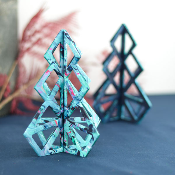 Geometric Christmas tree  16 cm – 20 cm