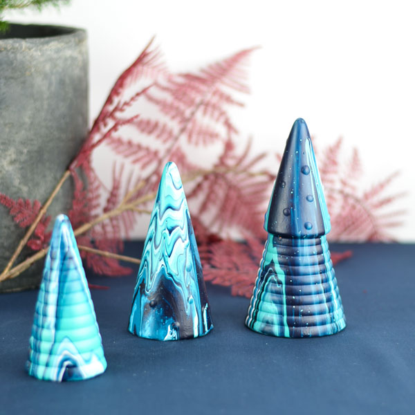 Christmas tree ceramics