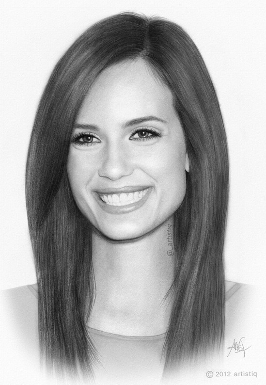 Stunning Traditional Art Pencil Drawings of Famous Celebrities