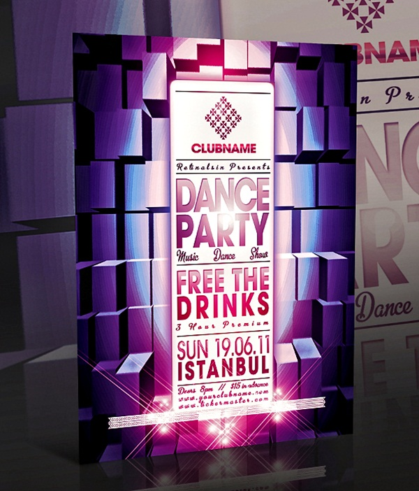 Amazing Party Poster Designs11