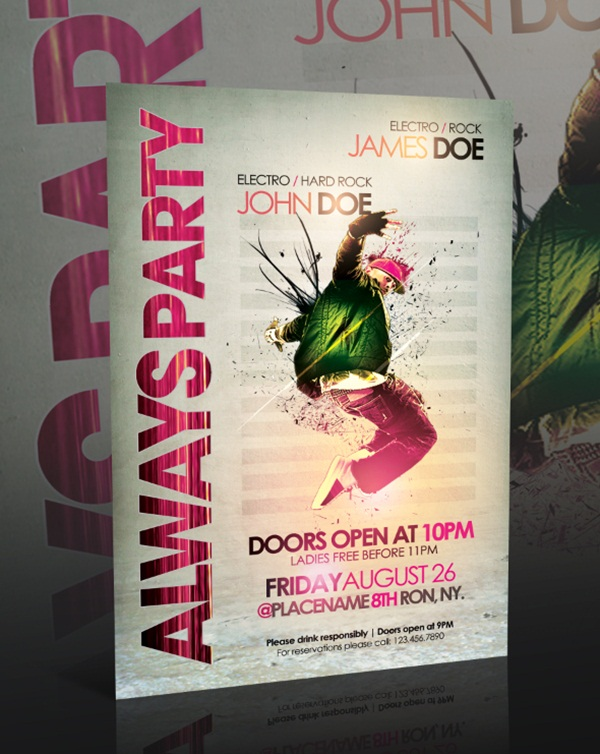 Amazing Party Poster Designs5