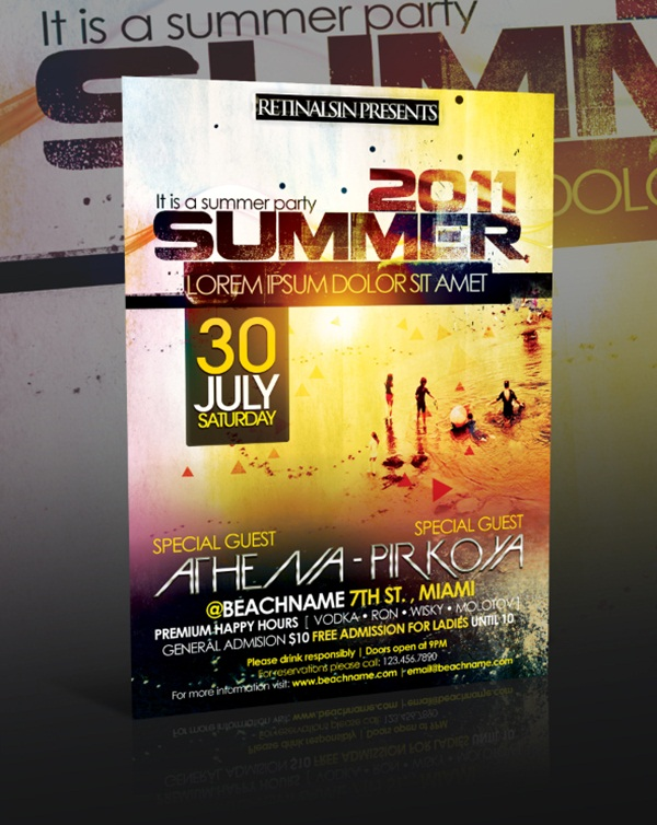 Amazing Party Poster Designs6