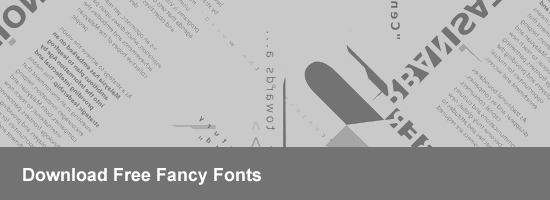 Download Free Fancy Font