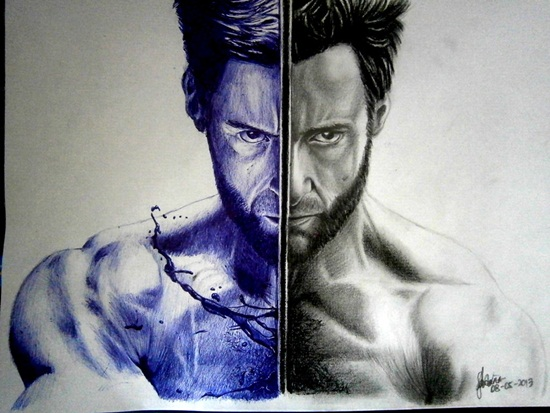 Ballpoint Pen Drawings & Sketches (5)