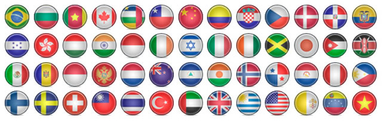 Dowload Free Country Flags Icons