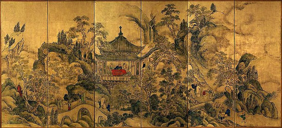 japanese art imperial paintings - photo #36