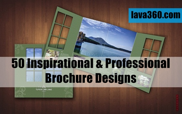 Inspirational & Professional Brochure Designs