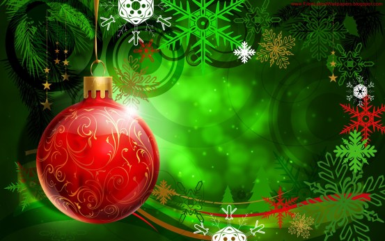 Gorgeous Vector HD Christmas Wallpapers