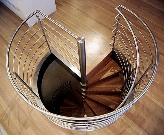 Most Beautiful Examples of Spiral & Helical Staircase Photography (11)