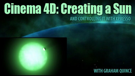 tutorial: making the sun and controlling in cinema 4D
