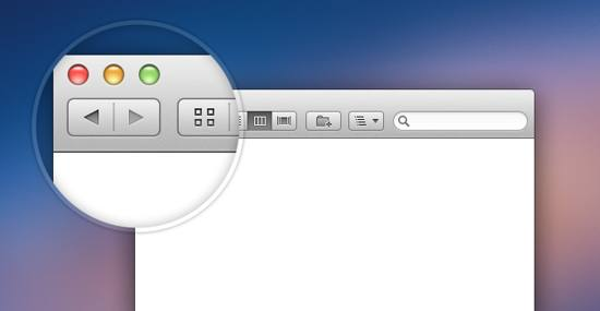 Retina Finder Window PSD file for free download
