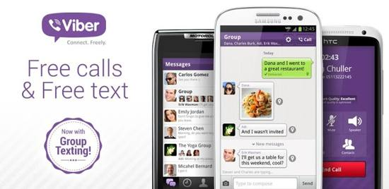 Viber! Free Calls & Messages free android app