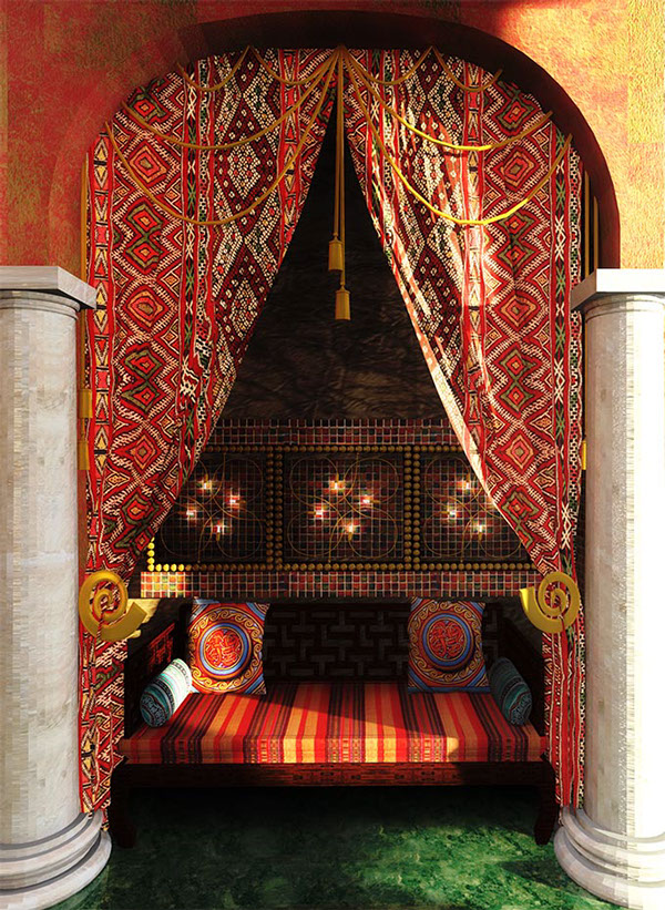 Cool Interior Design idea arabian style iterior 1.10