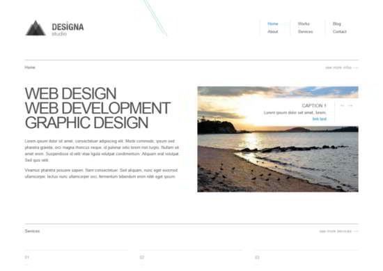 Design a Responsive HTML5 Template