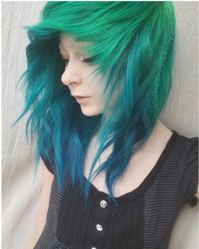 Colorful Hair style Ideas and Photo Choices for Parties1.22