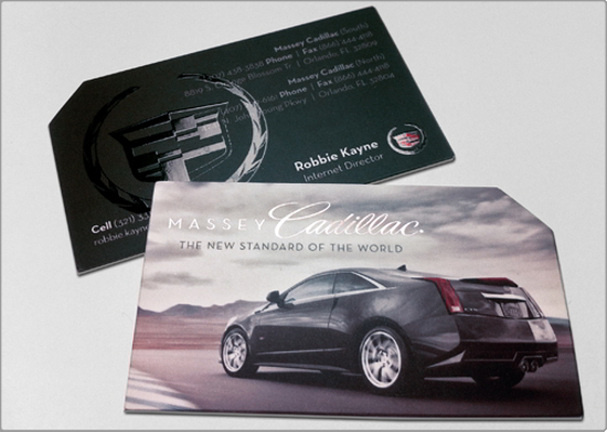 Cadillac Business Card Design