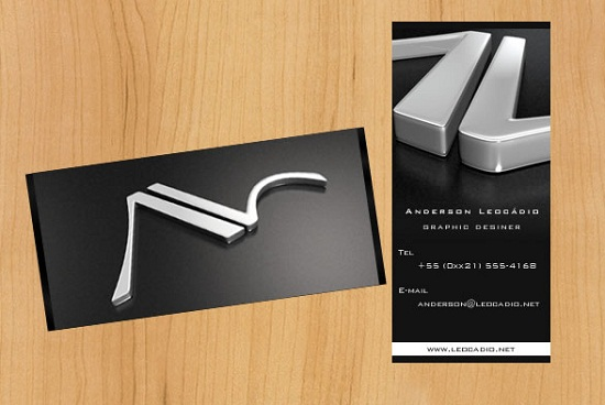 Fascinating 3d business card design examples to explode for 3d business card