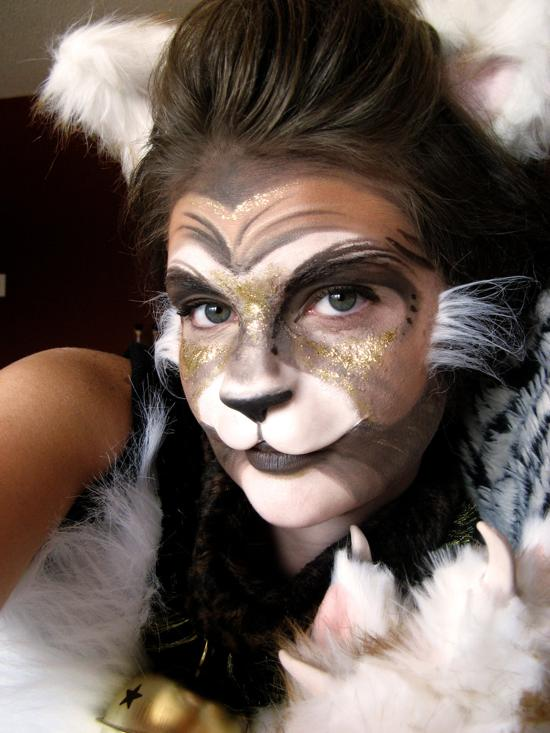 body painting norris the cat