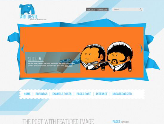 wp art theme
