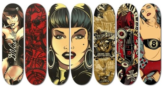 D Vicente Skateboards