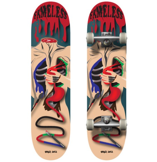 Fameless Skateboard Deck