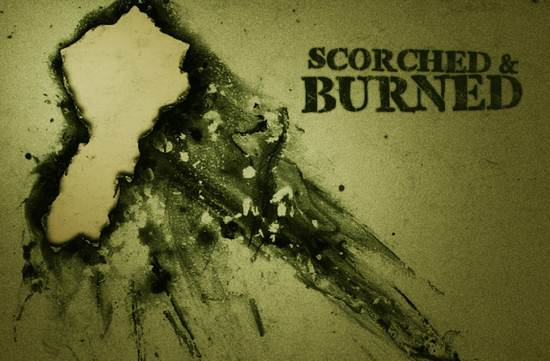 free scorched and burned brushes