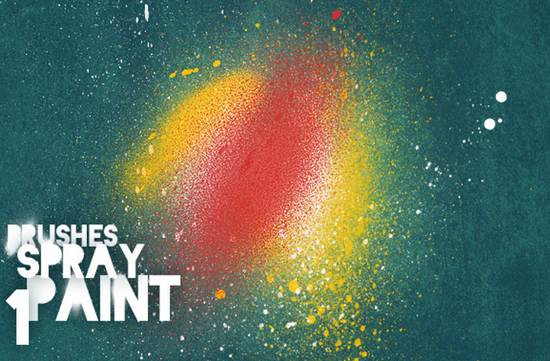 free spray paint brushes vol 1