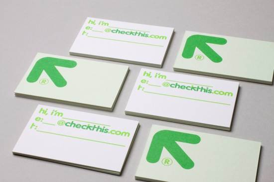 checkthis business card design