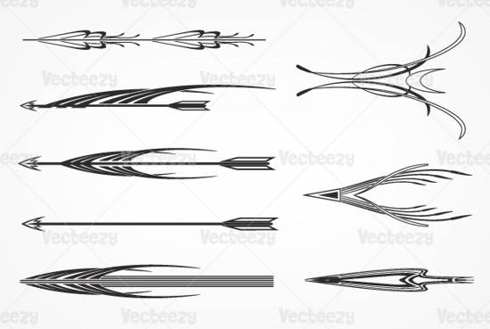 decorative arrows premium