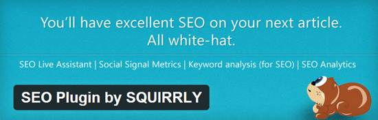 seo plugin by squirrly plugin
