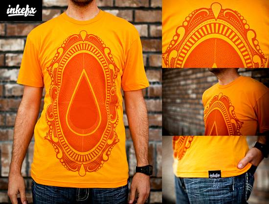 ornate t-shirt design