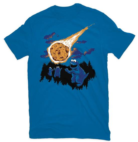 dinosaur ware blue t-shirt design