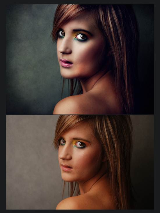 niniel retouch after and before