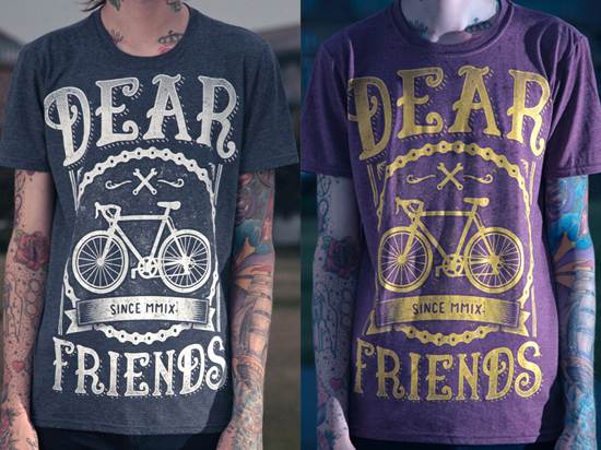 dear friends t-shirt design