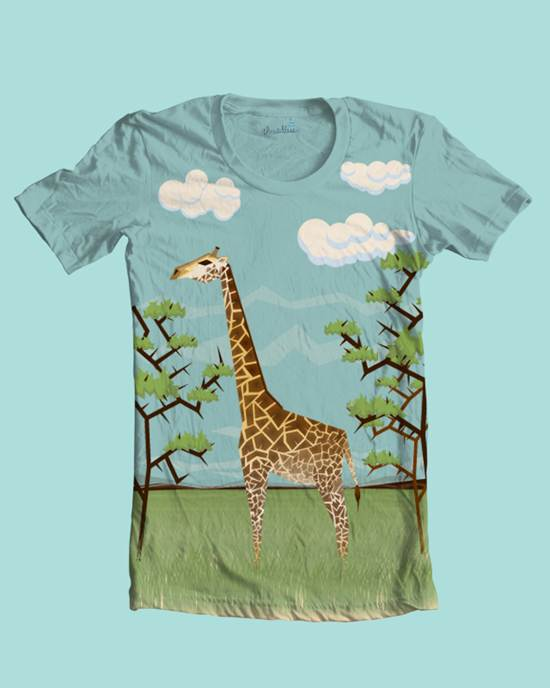safari t-shirt design