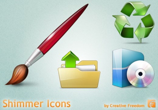 Free Windows Icons Shimmer