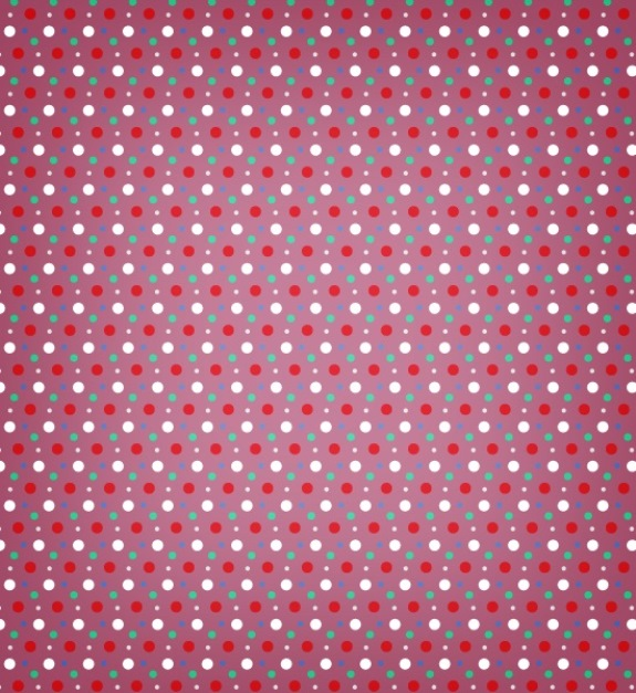 Polka Dot Photoshop And Vector Pattern