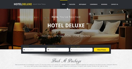 Download Free Hotel Website Template Freakify Com: 20 Professional PSD Web Templates For Free Download