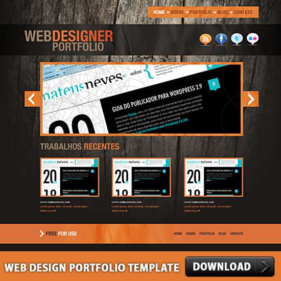 20 professional psd web templates for free download