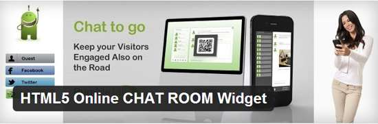 HTML5 Online CHAT ROOM