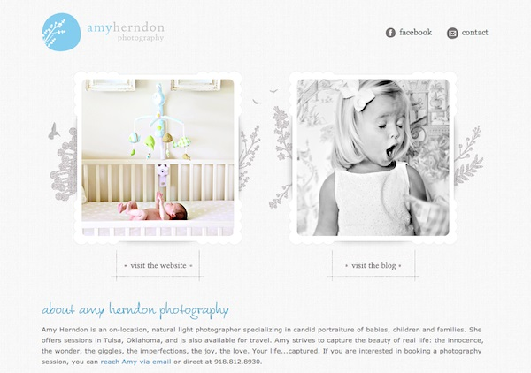 amyherndonphotography photography portfolio websites