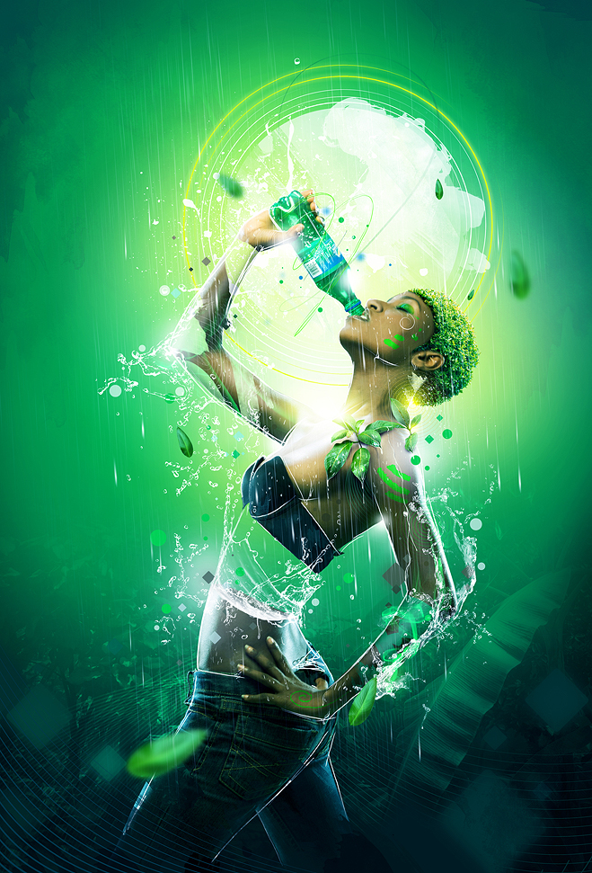 Ahhh Sprite   Commercial Photo Manipulation